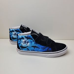 Vans Sk8-Mid Reissue V Shark Swim Sneakers Boys 6